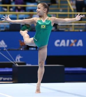 Flavia Saraiva - ginástica Copa do Mundo de São Paulo (Foto: Ricardo Bufolin/CBG)