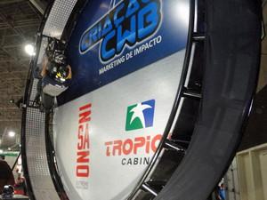 giro 360 graus salão duas rodas (Foto: Divulgação/Salão Duas Rodas)