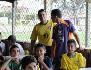 Evaldo Machado, ex-técnico de Luiz Gustavo (Foto: Arthur Costa)