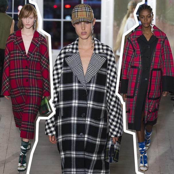 Burberry inverno 2018 (Foto: Imaxtree)