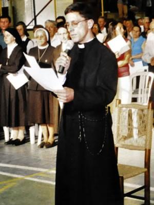 Dia dos Namorados - ex-seminarista (Foto: Roberto Dembiski/Arquivo pessoal)