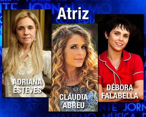 Melhores do ano atriz (Foto: Domingão do Faustão / TV Globo)
