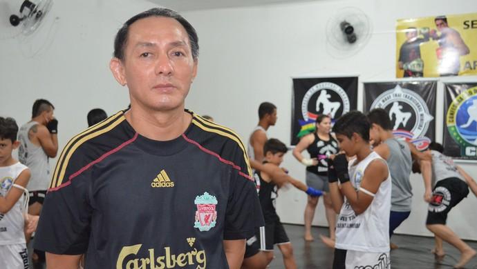 Mestre tailandês Pairojnoi Siamchai (Foto: Franciele do Vale)