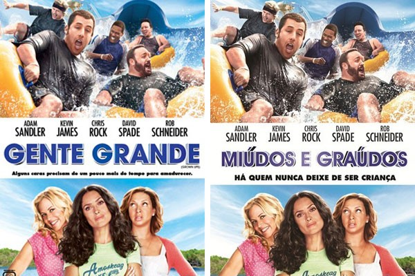 Ora pois! A difereça entre títulos de filmes no Brasil e em Portugal (Foto: Reprodução)