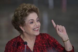 Dilma Rousseff (Foto: Eraldo Peres)