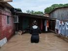 Número de desabrigados cai, mas chuva ainda afeta quase 50 mil no RS