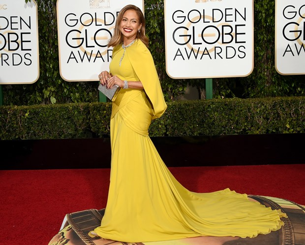 Jennifer Lopez no Globo de Ouro (Foto: Getty Images)