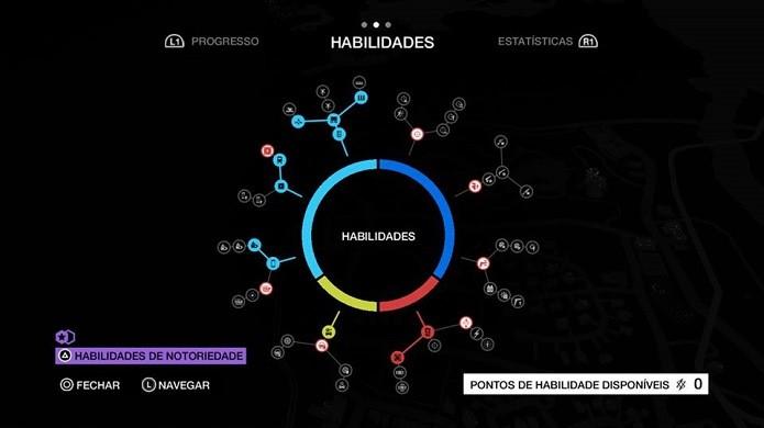 Edite as habilidades (Foto: Thiago Barros/Reprodução)