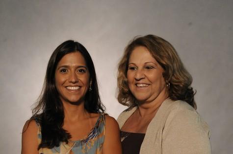 Ana Maria e Patrícia Moretzsohn  (Foto: TV Globo)