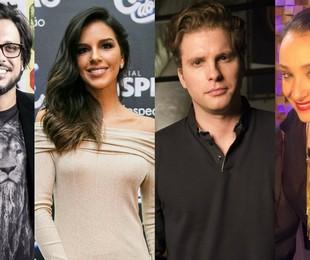 Lúcio Mauro Filho, Mariana Rios, Thiago Fragoso e Sabrina Parlatore   TV Globo e reprodução