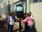 Projeto usa água do ar-condicionado para limpeza de escola no Tocantins