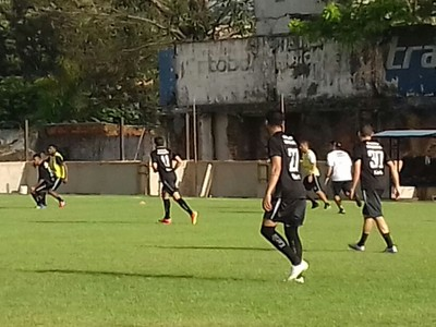 operário-pr treino em belém copa do brasil (Foto: Leitícia Cabral/Operário-PR)