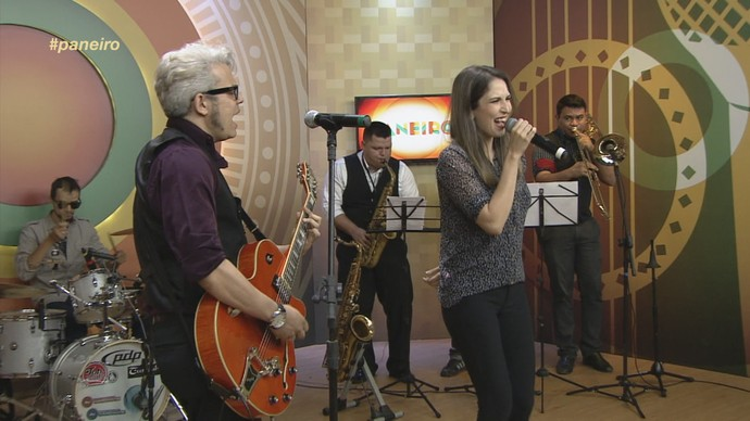 Banda Soda Billy mistura swing Jazz e Rock and Roll, no Paneiro (Foto: Paneiro)