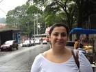 Eleitor se divide entre queixas e elogios (Olivia Florência/ G1)