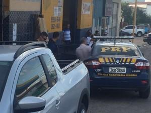 PRF prende ex-prefeito de Senador Rui Palmeira, suspeito de assassinato (Foto: Divulgação / PRF)