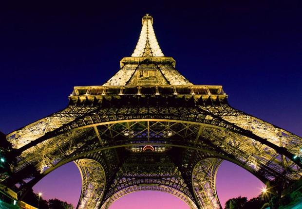 Torre Eiffel Paris França (Foto: Reprodução Internet)
