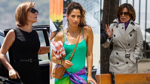 Adriana Esteves, Camila Pitanga e Glória Pires vivem as personagens centrais de Babilônia, próxima novela das 9 (Foto: Globo)
