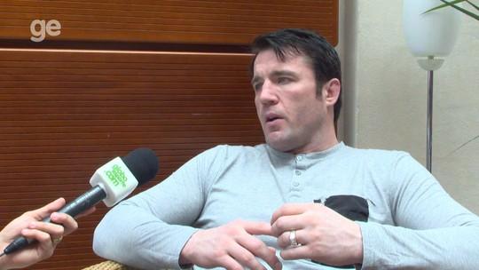 Sonnen reverencia McGregor, diz sentir falta do Brasil e defende Spider