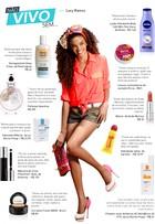 Lucy Ramos indica dez produtos de beleza para não tirar da nécessaire