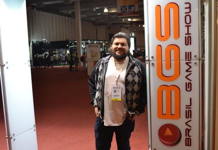 Orlando Fonseca Jr. também falou sobre suas crenças pessoais no mundo dos games (Foto: Pedro Zambarda/TechTudo)