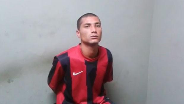 Recapturado preso Pasc Charqueadas RS (Foto: Brigada Militar/Divulgação)
