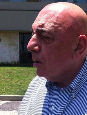 galliani entrevista (Foto: Vicente Seda / GLOBOESPORTE.COM)