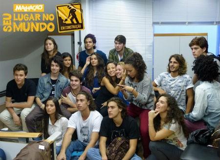 Elenco nova temporada Malhação (Foto: Gshow)