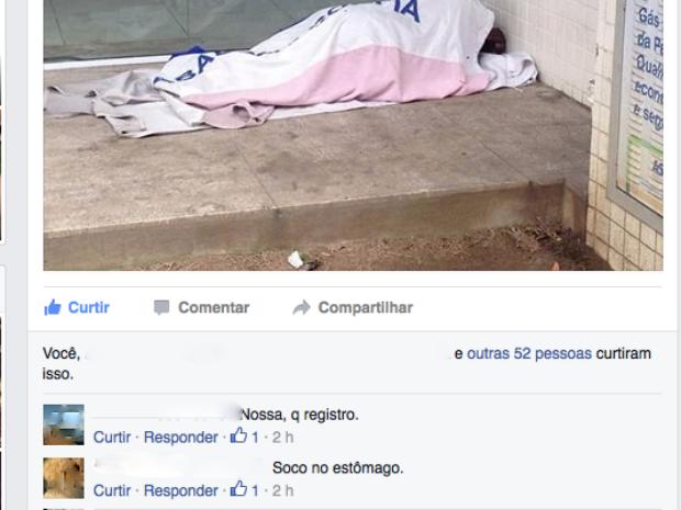 Amigos de Fernando comentaram a publicação (Foto: Reprodução/Facebook)