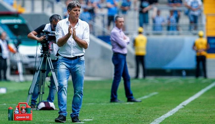 Renato, técnico do Grêmio (Foto: Lucas Uebel / Grêmio, DVG)