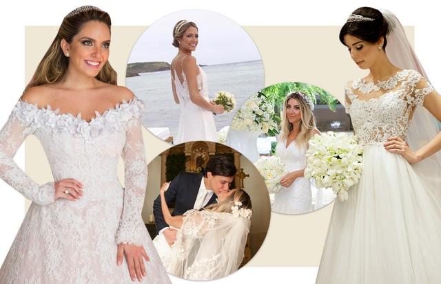 Vestidos de noiva de 9 bloggers (Foto: Reprodução)