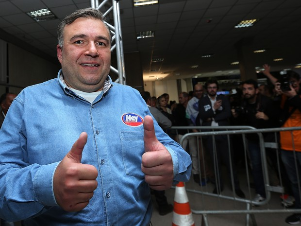 Ney Leprevost (PSD), no TRE-PR (Foto: Giuliano Gomes/PRPRESS)