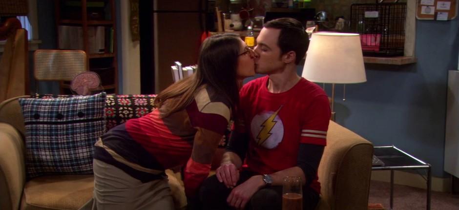 Sheldon e Amy; The Big Bang Theory (Foto: Reprodução )