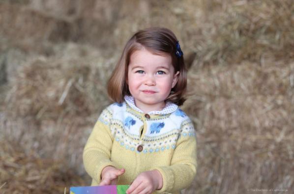 Princesa Charlotte (Foto: Divulgação/Kensington Royal)