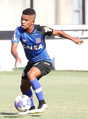 Lorran, treino Vasco (Foto: Marcelo Sadio / Flickr do Vasco)