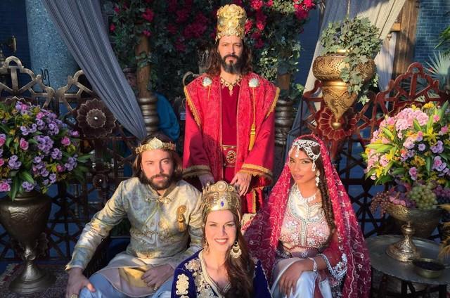 Heitor Martinez, Kayky Brito, Adriana Garambone e Gabriela Moreyra  (Foto: Divulgação)