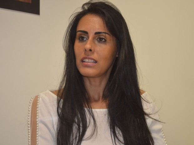 Acusada de matar o marido, Tania Levy falou sobre prisão e diz ser inocente (Foto: Araripe Castilho/G1)