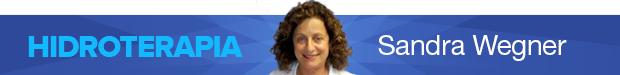 Header coluna - Sandra Wegner - Hidroterapia - Eu Atleta - Especialista (Foto: Editoria de Arte / GLOBOESPORTE.COM)