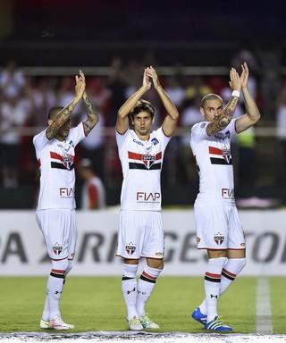 São Paulo Trujillanos Libertadores (Foto: Marcos Ribolli)