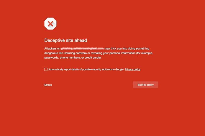 Chrome agora avisa de sites com botões falsos de downloads (Foto: Divulgação/Google)