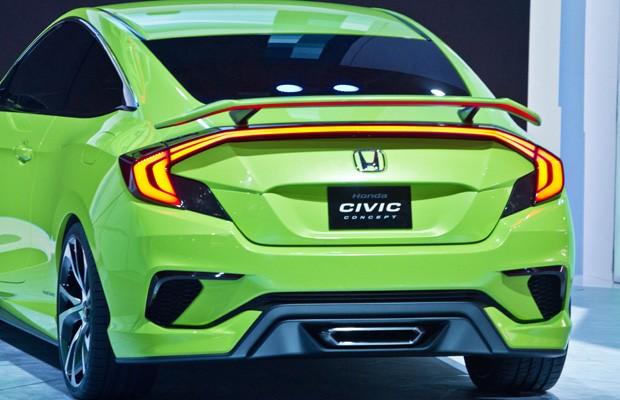 Honda Civic Concept (Foto: Bebeto Matthews/AP)