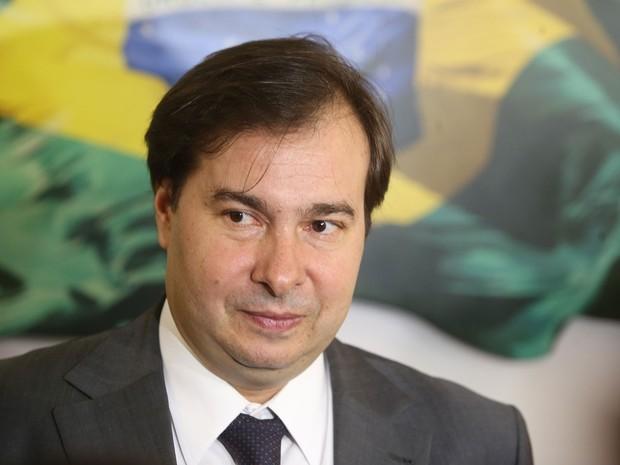 Rodrigo Maia presidente da Câmara dos Deputados (Foto: André Dusek/Estadão Conteúdo)