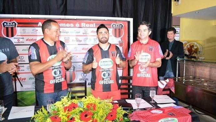 Jogador Marco Aurélio, o Bochecha (Foto: Alexandre Jabá/Arquivo pessoal)