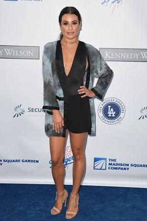 Lea Michele em evento beneficente em Los Angeles, nos Estados Unidos (Foto: Angela Weiss/ Getty Images/ AFP)