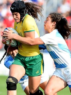 Rugbi feminino Brasil Argentina (Foto: Bruno Miani/inovafoto)