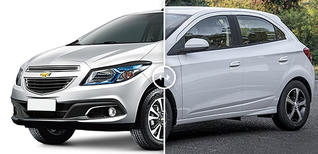 Chevrolet Onix e Prisma: Era assim... e fiquei assim (Foto: Autoesporte)