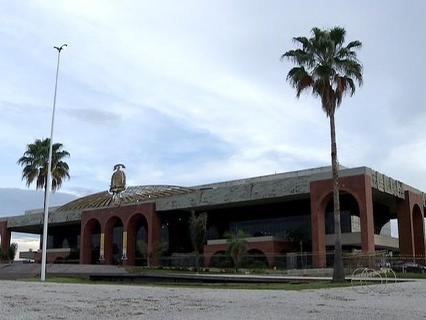 Palácio Araguaia completa 25 anos (Foto: Reprodução/TV Anhanguera)
