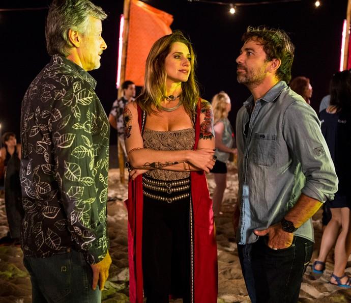 Felipe tira satisfação com Vittorio (Foto: Ellen Soares/Gshow)