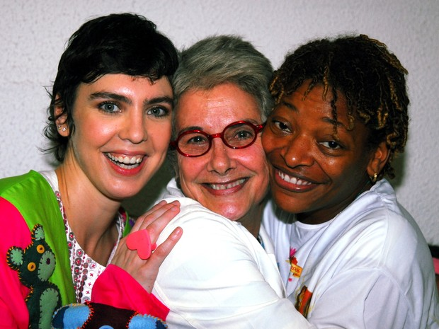 Adriana Calcanhoto, Suzana de Moraes e Mart'nália (Foto: Cristina Granato / Agência O Glob)