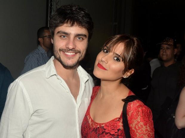 Guilherme Leicam e Camilla Camargo em show em São Paulo (Foto: Caio Duran/ Ag. News)