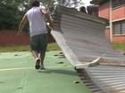 60 escolas já relataram danos na capital (Reprodução/RBS TV)